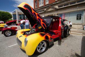 Somernites Cruise classic car on display
