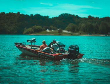 Fishing boat on Lake Cumberland