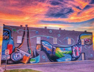 downtown Somerset, Kentucky mural