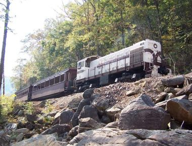 Big South Fork Scenic Railway train