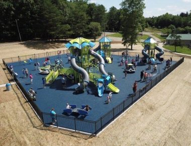 Fischer Park playground in Somerset, Kentucky