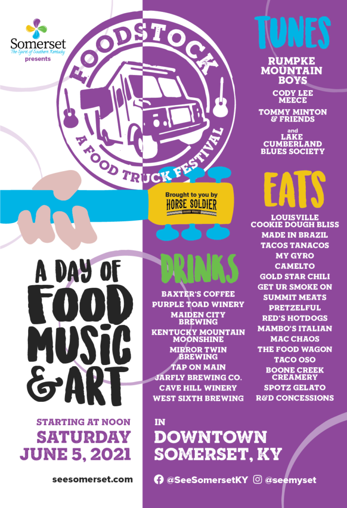 Foodstock Event Poster 2021